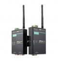 1 - портов Wireless индустриален медия конвертор, 3-в-1, 802.11 a/b/g WLAN, 12-48 VDC, -40 to 75°C
