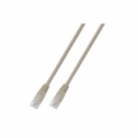 FTP кат.6 пач кабел с RJ45 конектори, PVC, 3м, бял