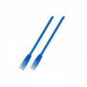 UTP кат.5E пач кабел с RJ45 конектори, PVC, 1м, черен