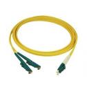 3m Сингъл мод 9/125 oптичен пач кабел, E2000/APC to LC/PC, Duplex