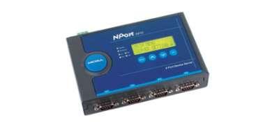 4 - портов индустриален медия конвертор, 10/100Mb Ethernet към RS-232/422/485, DB9 connectors, 12-48VDC power input, 2KV islation protection, -40-75℃