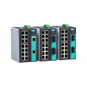 16 - портов индустриален, неуправляем комутатор /суич/ (14 10/100BaseT(X) порта и 2 мулти мод 100BaseFX порта, SC конектор). Температурен диапазон: 0 to 60°C