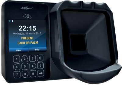 Biosmart PV-WTC Palm Scan terminal, EM Marin reader