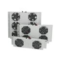 Вентилаторен блок с 2 вентилатора и аналогов термостат, за стенни шкафове