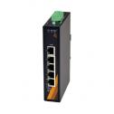 5 - портов индустриален Ethernet комутатор /суич/ (5*10/100Tx, 12-48VDC Power Input)