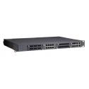 IEC 61850-3 модулен управляем, индустриален комутатор /суич/, 3 слота за  fast Ethernet и 1 слот за Gigabit Ethernet модули, с максимум 24+4G порта, (88-300 VDC или 85-264 VAC),Rackmount, Работен температурен диапазон от -40°C to 85°C