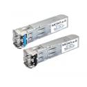 SFP модул, 1000 base LX, SM, 1310 nm, 10 km. -40 /75 °C