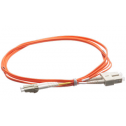 1m Мулти мод OM2, 50/125 оптичен пач кабел, LC/UPC to SC/UPC, Duplex